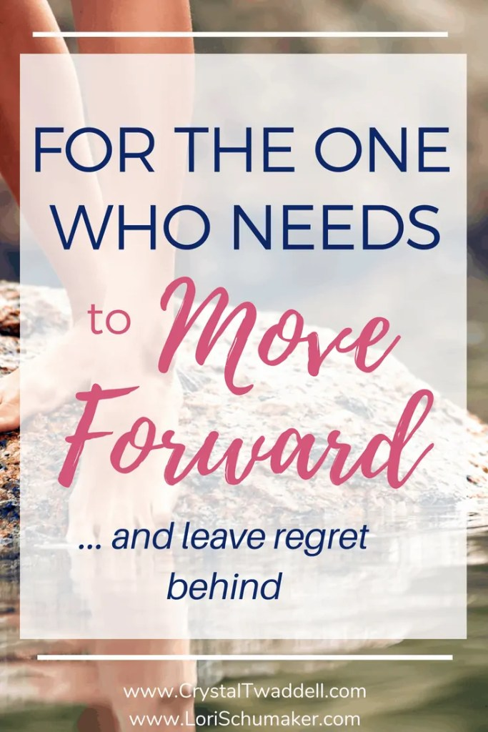 If regret is weighing you down and keeping you stuck, it's time to move forward | For the One Who Needs to #MoveForward and Leave #Regret Behind #Godslove #grace #freedom #brave