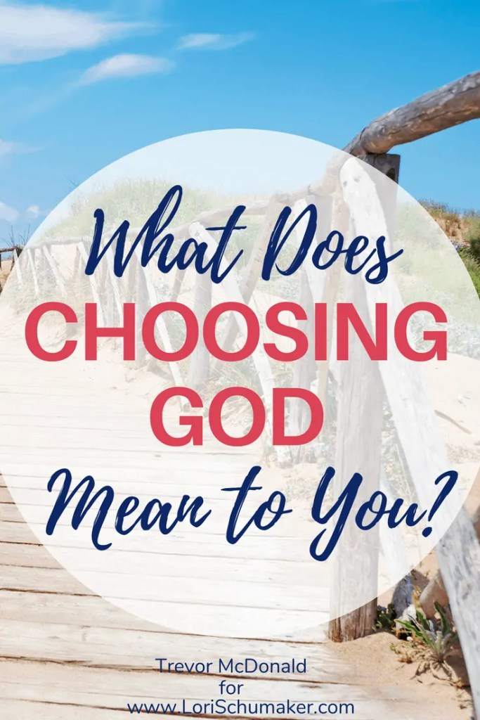 What does choosing God mean to you? Choosing God should make a difference in our lives. It should be our help in the time of struggle and our defense in the face of temptation | Faith in recovery | #addictionrecovery #choosingGod #Godslove #recovery