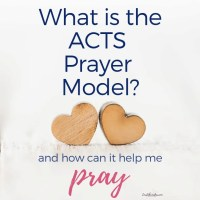 What is the ACTS Prayer Model and How Can It Help Me Pray? {#MomentsofHope Link-Up}