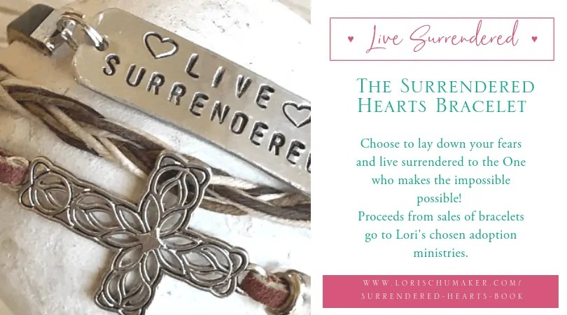 The Surrendered Heart Bracelet: Choose to Live Surrendered to the One who makes the Impossible Possible!