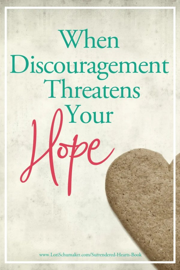 Discouragement can chip away at our hope. Often, it's in a long season of waiting or when obstacles present themselves. Where do you turn when you can wait no more? #adoption #hope #surrenderedheartsbook #prayer #ephesians3 #nationaladoptionmonth