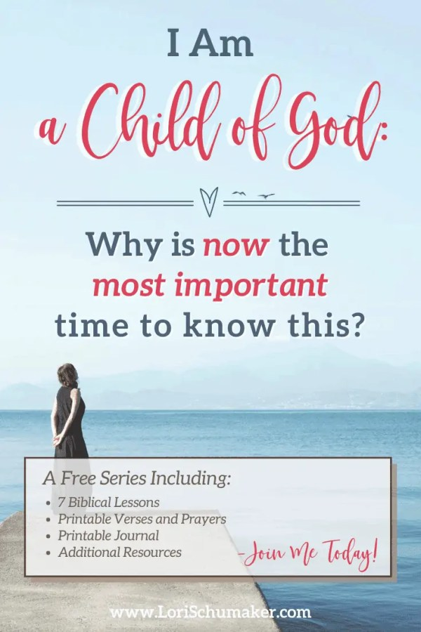 "Can you say, ""I am a child of God"" and feel the power of that statement? Do the circumstances we currently face in our world leave you feeling unsteady? Fearful? Angry? There is not a better time to embrace God's love and live steady in His reflection."