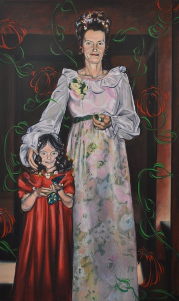 SEPTEMBER 23, 1972, acrylic & charcoal on canvas, 60 in. H x 36 in. W, $5720.00Cdn