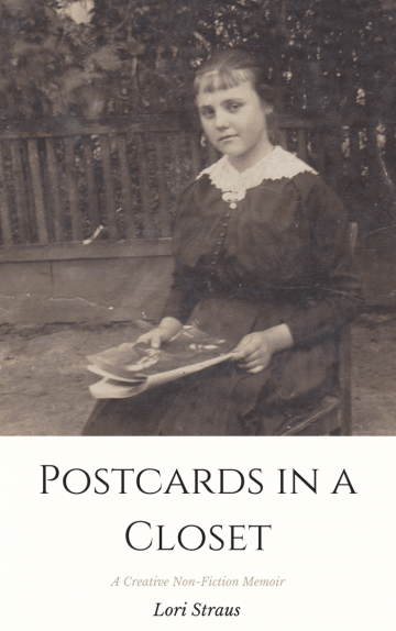 "Cover of ""Postcards in a Closet,"" by Lori Straus"