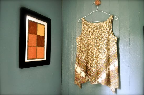 hanging corners blouse 1