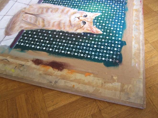 tendre papier peinture gouache