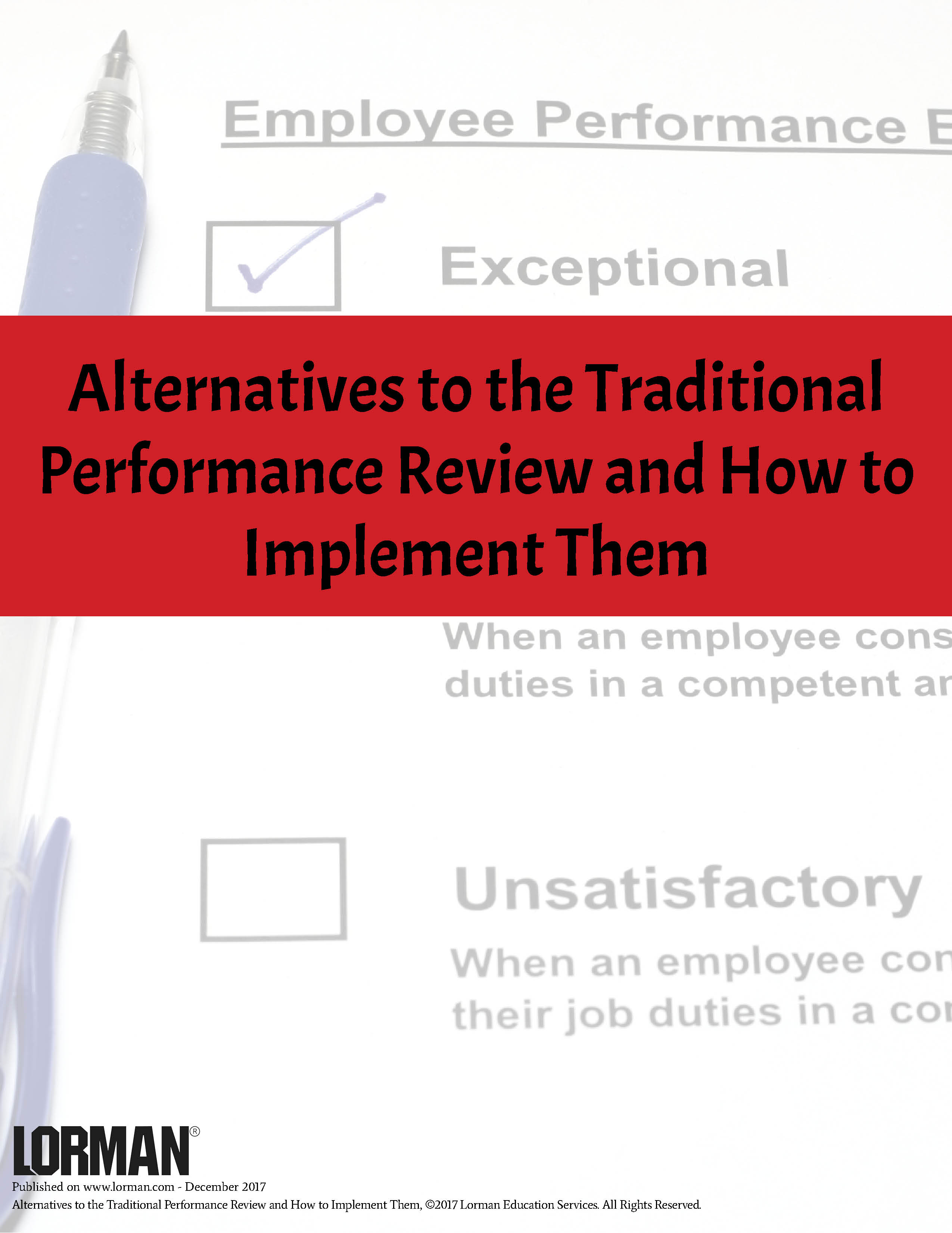 Alternatives To The Traditional Performance Review And How To Implement Them
