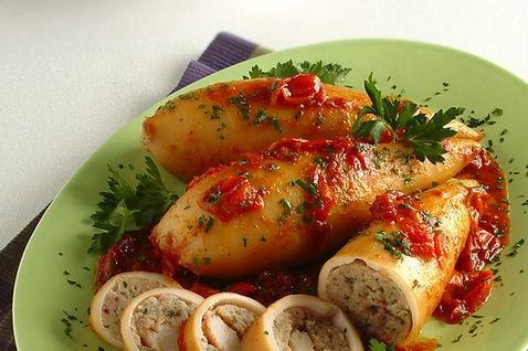 Ricetta come preparare i calamari ripieni al forno