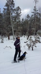 Kuma is snowbound in Flagstaff where he has a great adventure with his family.