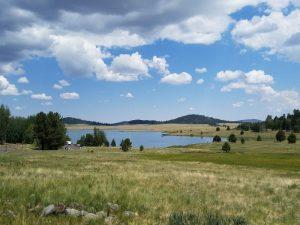Kuma and his folks camp near Big Lake in AZ