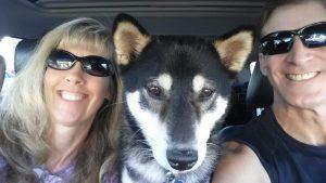 Happy birthday to Kuma and his mom
