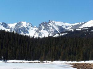 Rocky Mountains in Colorado