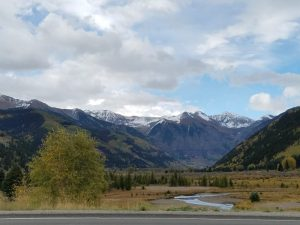 Fall and winter collide at Telluride