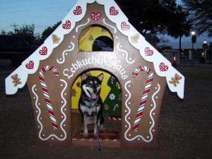 Kuma gets into the Christmas spirit