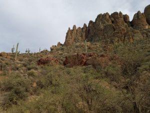 Kuma and his family drive the Apache Trail