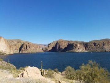 Canyon Lake in Arizona