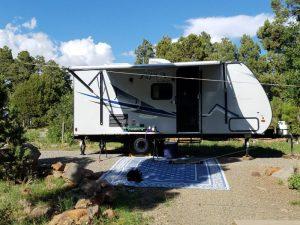 Kuma's family goes camping