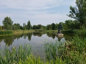 Sculpture Park pond
