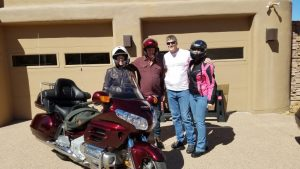 Motorcycle ride turned bad really fast, but my super power saved us, I truly believe