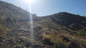 Get ready for a steep and rocky hike