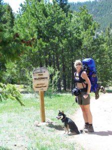 Kuma goes backpacking