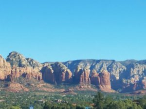 View of Sedona from Cottonwood