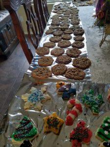 Kuma's mom bakes