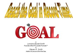 Help to achieve your goals