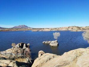 Willow Creek Lake in Prescott