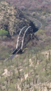 Gila River bridge
