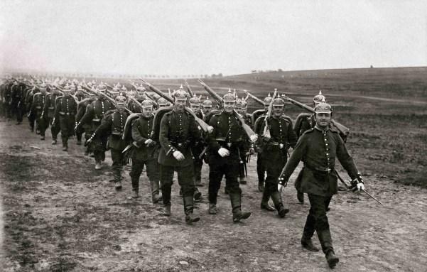 Пруссаки на марше