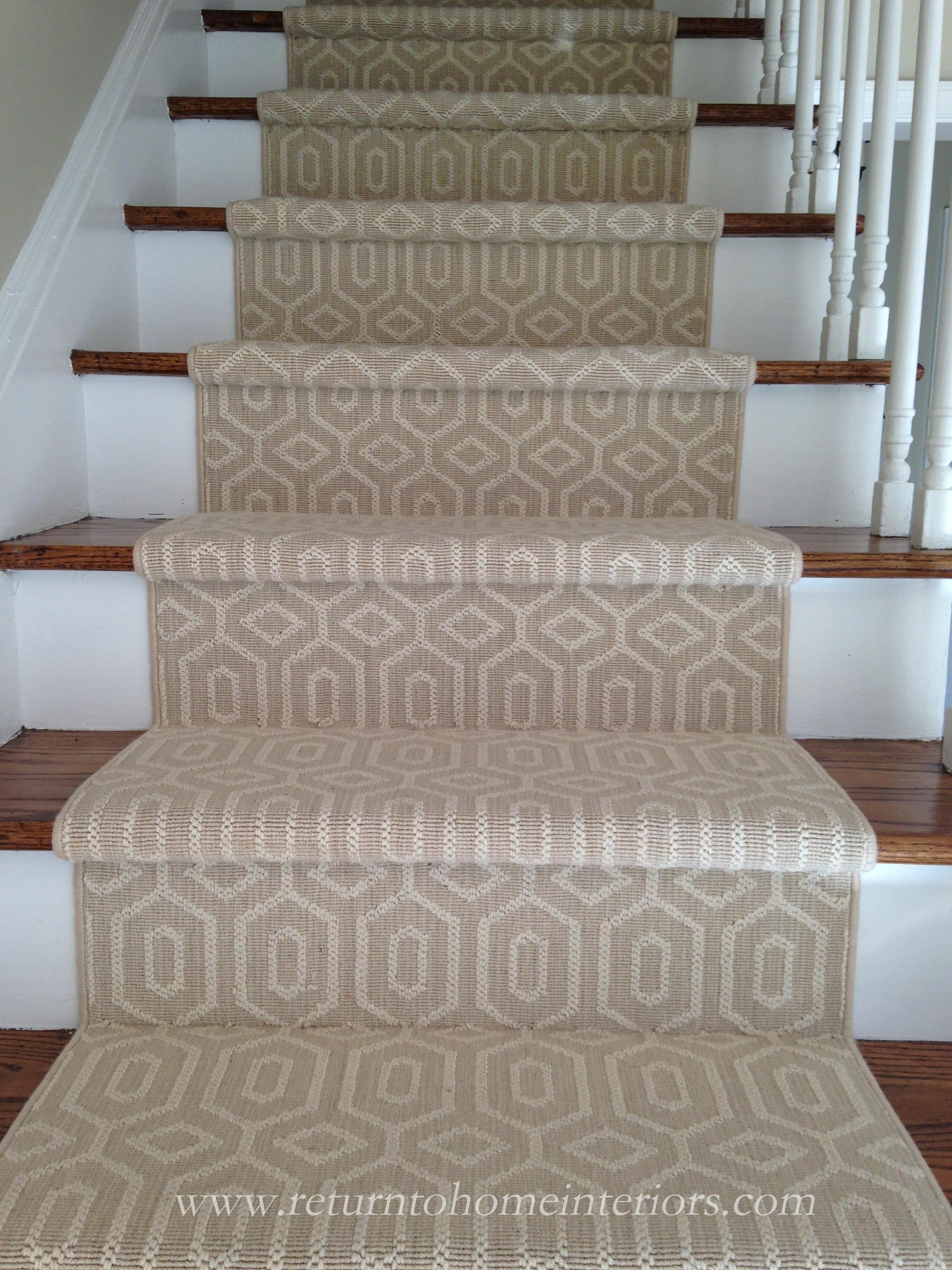 Choosing A Stair Runner Some Inspiration And Lessons Learned   Carpet In Middle Of Stairs   Exposed Tread   Hardwood   Wood   Victorian   Popular