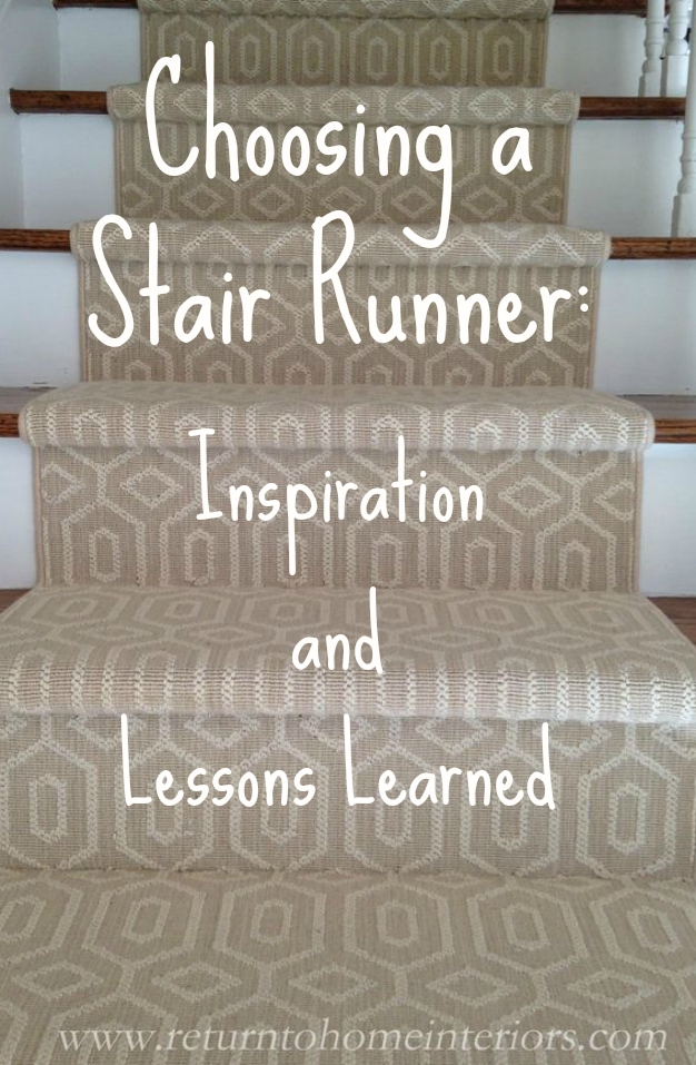 Choosing A Stair Runner Some Inspiration And Lessons Learned   Solid Color Stair Runners   Non Slip   Rectangle   Rubber Backed   Modern Stair   Flooring