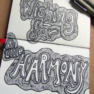 Wishing for Harmony