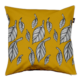 Golden Leaves Cushion