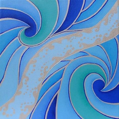 Acrylic paint on deep edges canvas