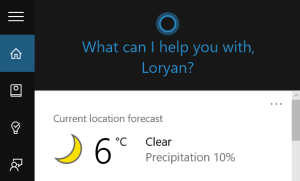 Cortana-working