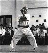 Gichin Funakoshi kata