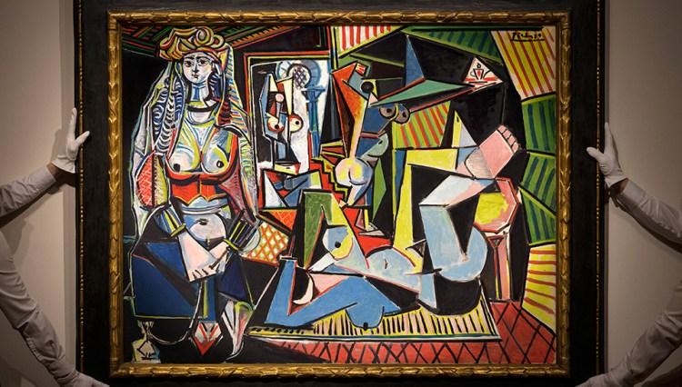 Las femmes d'Alger de Pablo Picasso