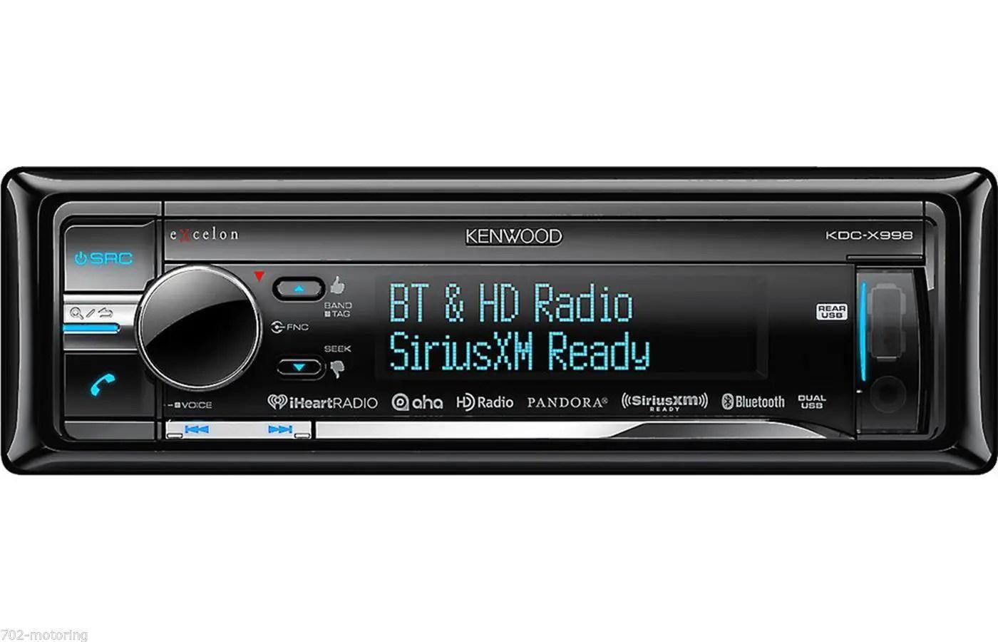 kenwood kdc 2001 ford focus starter wiring diagram 6 mejores radios para coche los6mejores