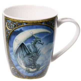Taza dragón en luna