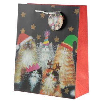 Bolsa Navidad Cats