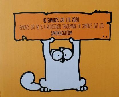Taza Simon's Cat Naranja