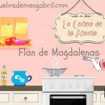 Flan de magdalenas
