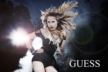 Guess ad campaign by LA photographer