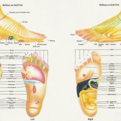 Foot Nerve Endings Diagram Ezgo Forward Reverse Switch Wiring Reflexology