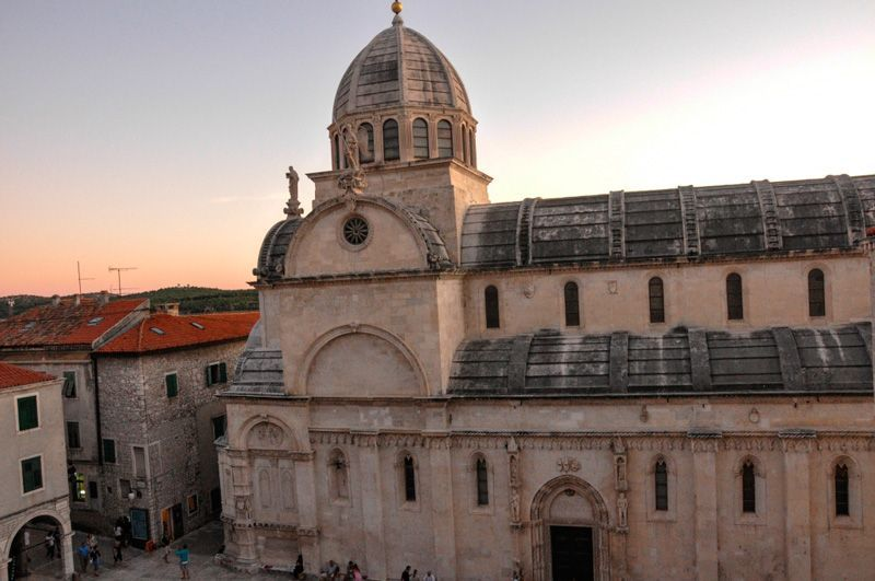 Catedral de Santiago en Sibenik, Croacia