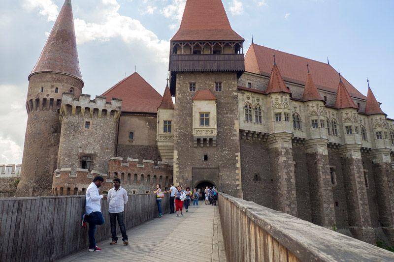 Castillo Hunyad En Hunedoara Ruman 237 A Los Apuntes Del