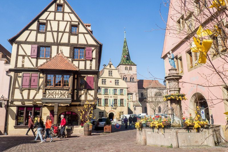 Qu visitar en Alsacia Francia  Los apuntes del viajero