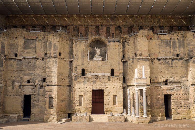 Visitar Orange Francia teatro romano y ms  Los